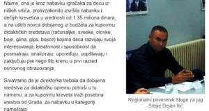 Krivična prijava protiv direktorke Pčelica Niš