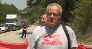 Održana blokada državnog puta Niš-Priština kod Kuršumlije