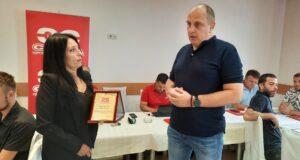 Sloga posthumno odala priznanje kolegi Dejanu Iliću iz Niša